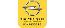 לוגו מוסך דודי אור